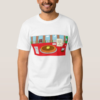 Spuuners pancakes and coffe tshirt