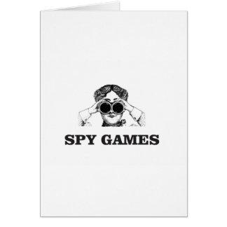 spy games yeah card