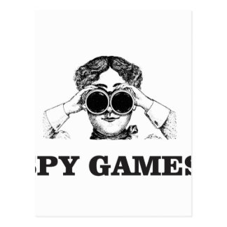 spy games yeah postcard