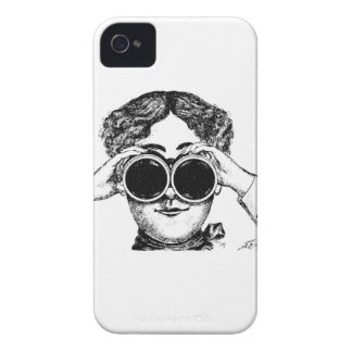 spy girl picture iPhone 4 Case-Mate case