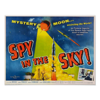 Spy in the Sky Poster