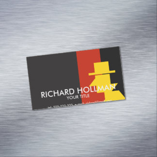 Spy Magnetic Business Card