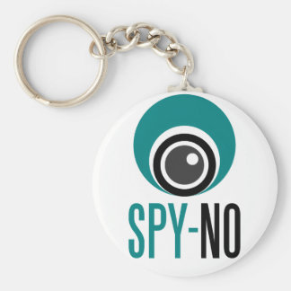 spy-no basic round button keychain