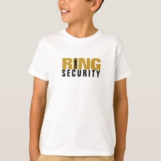 SPY security ring wedding shirt