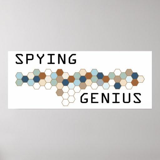 Spying Genius Posters