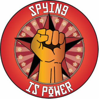 Spying Is Power Photo Cutout