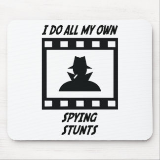 Spying Stunts Mouse Pads