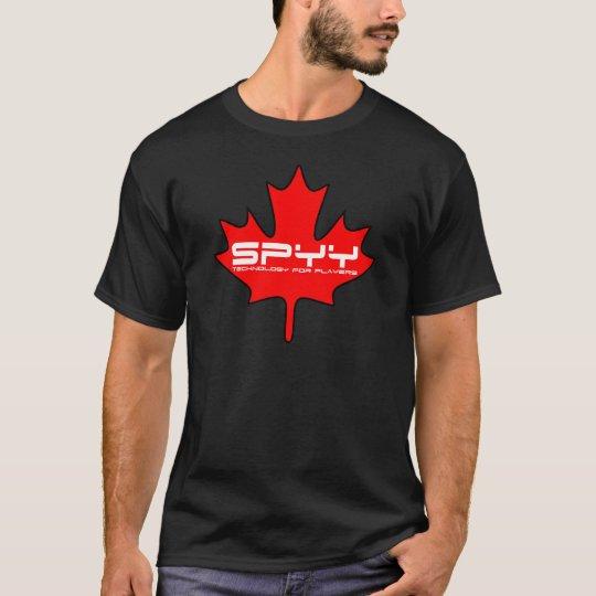 SPYY Leaf T-Shirt Black