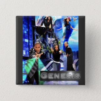 "SQ ""Genesis"" Button - Jordan's Logo"