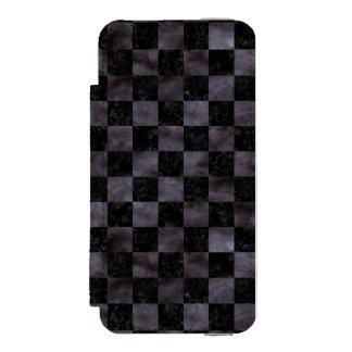 SQR1 BK-MRBL BK-WCLR INCIPIO WATSON™ iPhone 5 WALLET CASE