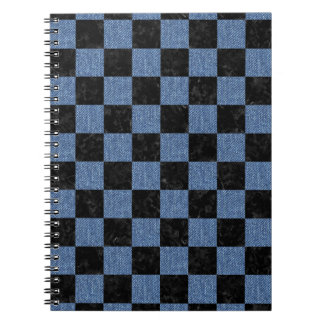 SQR1 BK-MRBL BL-DENM SPIRAL NOTE BOOK