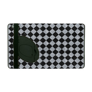 SQR2 BK-GY MARBLE COVER FOR iPad