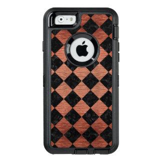 SQR2 BK MARBLE COPPER OtterBox iPhone 6/6S CASE