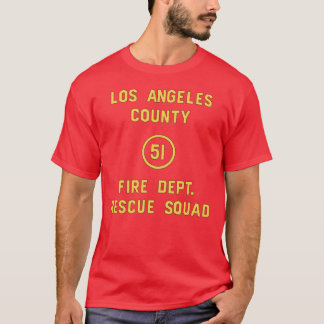 Squad 51 Door from Emergency! T-Shirt