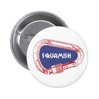 Squamish Climbing Carabiner 2 Inch Round Button
