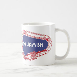 Squamish Climbing Carabiner Coffee Mug