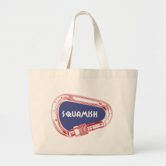 Squamish Climbing Carabiner Large Tote Bag