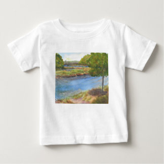 squamscott river at newfields july 31 2015 baby T-Shirt