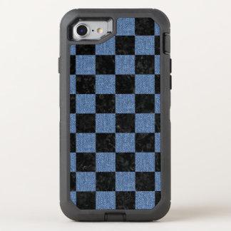 SQUARE1 BLACK MARBLE & BLUE DENIM OtterBox DEFENDER iPhone 8/7 CASE