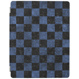 SQUARE1 BLACK MARBLE & BLUE STONE iPad COVER