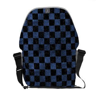 SQUARE1 BLACK MARBLE & BLUE STONE MESSENGER BAGS