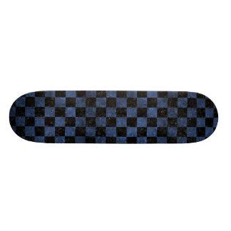 SQUARE1 BLACK MARBLE & BLUE STONE SKATEBOARD