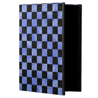 SQUARE1 BLACK MARBLE & BLUE WATERCOLOR POWIS iPad AIR 2 CASE