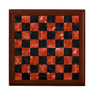 SQUARE1 BLACK MARBLE & RED MARBLE GIFT BOX