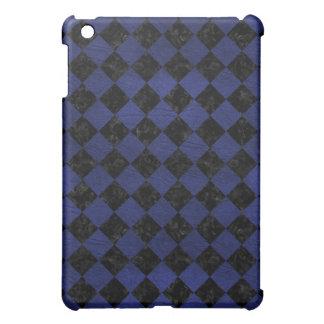 SQUARE2 BLACK MARBLE & BLUE LEATHER iPad MINI COVERS