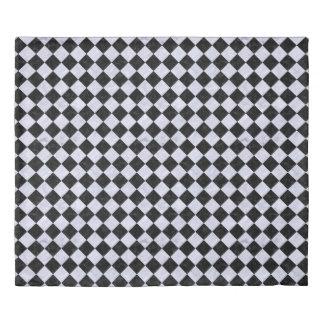 SQUARE2 BLACK MARBLE & WHITE MARBLE DUVET COVER
