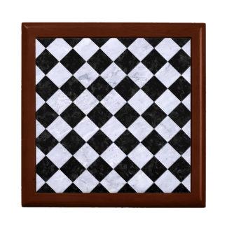 SQUARE2 BLACK MARBLE & WHITE MARBLE GIFT BOX