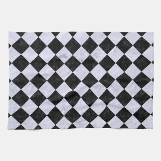 SQUARE2 BLACK MARBLE & WHITE MARBLE HAND TOWELS
