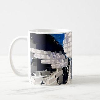 Square #2 design coffee mug