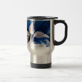 Square #2 design travel mug
