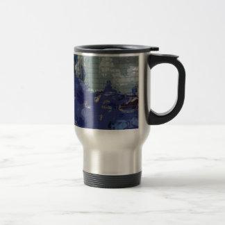 Square #7 design travel mug