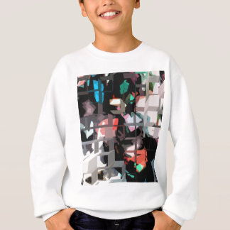 Square #8 design sweatshirt