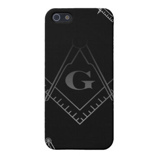 Square and Compass IPhone Case 2