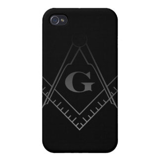 Square and Compass IPhone Case Case For iPhone 4
