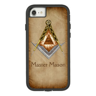 Square and Compass with All Seeing Eye Case-Mate Tough Extreme iPhone 8/7 Case