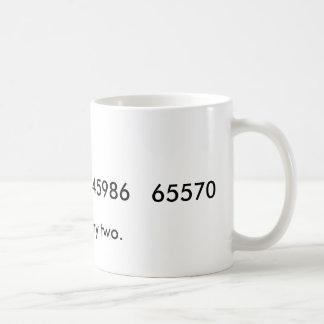 Square any two coffee mug