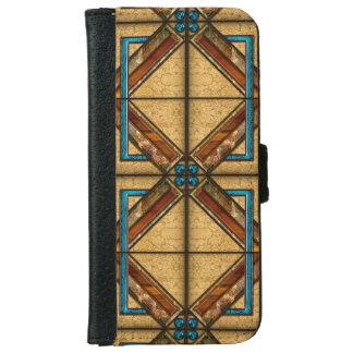 Square Art Deco Tiles iPhone 6 Wallet Case
