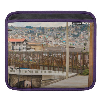 Square at Historic Center of Quito Ecuador iPad Sleeves
