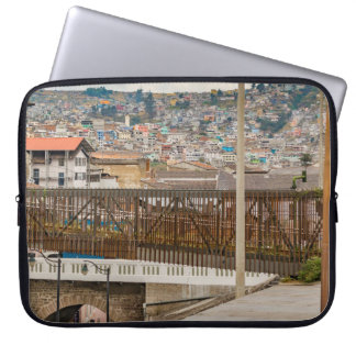 Square at Historic Center of Quito Ecuador Laptop Sleeves