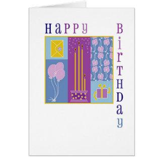 square birthday card 2004