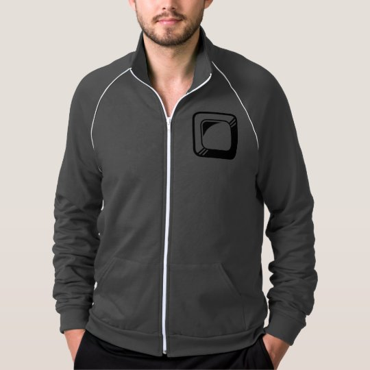 Square Button Design Template Jacket