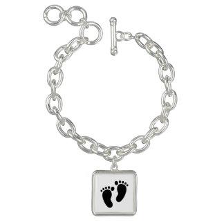 Square Charm Bracelet