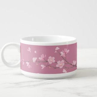 Square- Cherry Blossom - Transparent Background Bowl