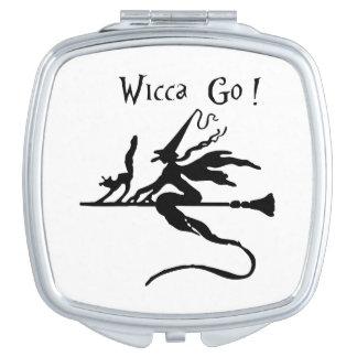 Square Compact Mirror Wicca GO!