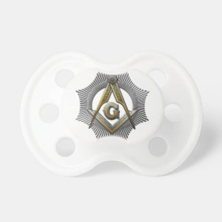Square & Compass Pacifier