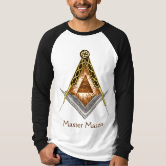 Square & Compass with All Seeing Eye T-Shirt